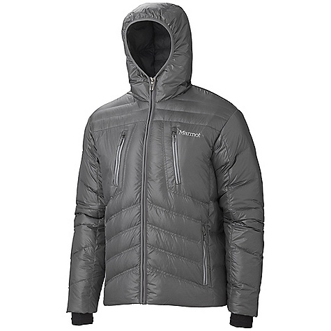 Free Shipping. Marmot Men's Hangtime Jacket DECENT FEATURES of the Marmot Men's Hangtime Jacket Attached Down-Filled Hood 700 Fill Power Down with Down Defender Napolean Chest Pockets with Vislon Zippers Handwarmer Pockets with Vislon Zippers Interior Zippered Pocket Interior Mesh Storage Pocket Internal Lycra Cuffs with Thumbholes Elastic Draw Cord Hem The SPECS Weight: 1 lb 6.1 oz / 626.5 g Center Back Length: 28in. Fit: Regular 100% Nylon Shiny Plain Weave 1.2 oz/yd - $244.95