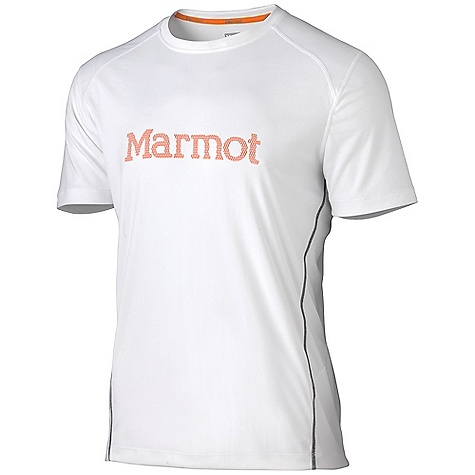 Features of the Marmot Men's Windridge With Graphic Short Sleeve Top Lightweight, Breathable, Quick-Drying Performance Knit Fabric Ultraviolet Protection Factor (UPF) 50 Quick-Drying and Wicking Mesh Panels for Breathability Contrast Flat-Locked Seams for Added Comfort Center Front Graphic Logo Tag-Free Neckline Reflective Logos - $21.99