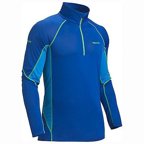 Free Shipping. Marmot Men's Lightweight 1-2 Zip LS DECENT FEATURES of the Marmot Men's Lightweight 1/2 Zip Long Sleeve Polartec Power Dry with Cocona Performance Technology Marmot UpCycle Product with Recycled Polyester Cocona for Natural Odor Protection Quick-Drying and Wicking Stretch for Increased range of motion Flat-Locked Seams for Added Comfort Mesh Panels for Increased Mobility Tag-Free Neckline The SPECS Weight: 6.3 oz / 178.6 g Material: PolartecPower Dry 100% Polyester (29% Cocona) Light Weight 3.5 oz/yd Center Back Length: 28.5in. Fit: Athletic - $54.95
