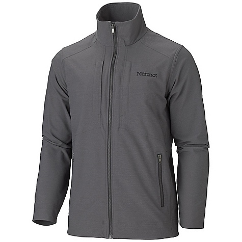 Free Shipping. Marmot Men's E Line Jacket DECENT FEATURES of the Marmot Men's E Line Jacket Marmot M3 Softshell Water Repellent and Breathable Zippered Hand Pockets Zippered Chest Pockets Interior Touch Media Pocket Interior Zippered Pocket The SPECS Weight: 1 lb 7.3 oz / 660.5 g Material: Softshell Double Weave 69% Nylon, 22% Polyester, 9% Elastane 6.4 oz/yd Center Back Length: 28.75in. Fit: Regular - $164.95