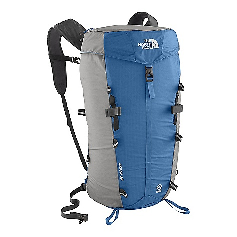 Camp and Hike Free Shipping. The North Face Verto 26 Pack DECENT FEATURES of The North Face Verto 26 Pack Updated 100D ripstop cargo chute fabric is extremelylight and tough Unique triple-point compression system lets pack double as a sleeping bag stuffsack Two zip pockets and one water bottlepocket Multiple reflective lash points with cinch-cord included The SPECS Average Weight: 11 oz / 310 g Volume: 1600 cubic inches / 26 liter Dimension: 20 x 11 x 6in. / 50 x 27 x 15 cm Access: Top H20 Compatible: Yes 100D cargo chute nylon This product can only be shipped within the United States. Please don't hate us. - $78.95