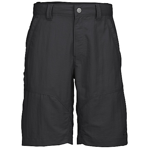 The North Face Men's Paramount Utility Short DECENT FEATURES of The North Face Men's Paramount Utility Short Durable, midweight abrasion-resistant nylon DWR finish Secure rear pocket Side utility pocket Crotch gusset Secure-zip hand pockets Relaxed fit Ultraviolet Protection Factor (UPF) 30 The SPECS Average Weight: 11 oz / 320 g Inseam: regular: 10in. 70D 165 g/m2 (5.82 oz/yd2) 100% nylon woven This product can only be shipped within the United States. Please don't hate us. - $44.95