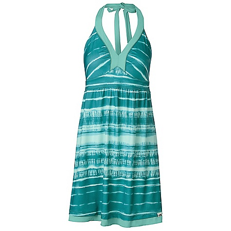 Entertainment Free Shipping. The North Face Women's Echo Lake Dress DECENT FEATURES of The North Face Women's Echo Lake Dress Redesigned Luxuriously soft quick-drying stretch Quick-drying performance Halter ties at neck for adjustability Slight ruching at seams for a flattering and comfortable fit Exposed second layer hem Ultraviolet Protection Factor (UPF) 50 The SPECS Average Weight: 8 oz / 230 g Length: 29.25in. 75D 208 g/m2 (7.337 oz/yd2) 83% polyester, 17% elastane jersey knit This product can only be shipped within the United States. Please don't hate us. - $64.95