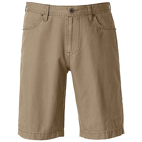 Free Shipping. The North Face Men's Buckeye Ridge Short DECENT FEATURES of The North Face Men's Buckeye Ridge Short Scoop hand pockets Shank center front closure with zip-fly Rivets at front pocket opening Triple-needle stitching at critical seams Patch pockets at rear Woven label at inside waistband Logo swing label at rear pocket The SPECS Average Weight: 11.29 oz / 320 g Inseam: 11in. Body: 254 g/m2 (7.5 oz/yd2) 100% cotton canvas Finish: Enzyme washed This product can only be shipped within the United States. Please don't hate us. - $54.95