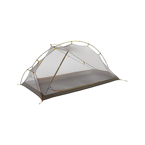Camp and Hike Free Shipping. The North Face Mica FL 2 Tent DECENT FEATURES of The North Face Mica FL 2 Tent Crossing ridge pole maximizes interior space and provides a dry entrance Double door double vestibule High-low ventilation Hubbed poles and color-coded webbing make for quick, easy setup The SPECS Capacity: 2 Person Average Weight: 6 oz / 170 g Total Weight: 3 lbs 7 oz / 1.56 kg Trail Weight: 2 lbs 15 oz / 1.33 kg Fastpack Weight: 2 lbs 8 oz / 1.13 kg Footprint Weight: 6 oz / 0.17 kg Floor Area: 28.3 square feet / 2.6 square meter Vestibules: 2 Vestibules Area: front: 10 square feet / 0.93 square meter, rear: 10 square feet / 0.93 square meter Peak Height: 39in. Stuffsack Size: 6 x 19in. / 16 x 50 cm Number of Poles: 1 Pole Diameter: 8.5 mm Doors: 2 Fly: super lightweight, high-tenacity nylon ripstop, 1200 mm PU coating, silicone Mesh: Nylon in.No-See-Umin. mesh Floor: Lightweight nylon ripstop, 1500 mm PU coating, silicone This product can only be shipped within the United States. Please don't hate us. - $378.95