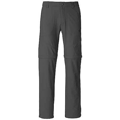 Free Shipping. The North Face Men's Taggart Convertible Pant DECENT FEATURES of The North Face Men's Taggart Convertible Pant Durable, midweight, abrasion-resistant four-way-stretch nylon Zip-fly and center front snap Belt loops Welted hand pockets Crotch gusset Secure-zip side and rear pockets Lined waistband for comfort Easy zip-off legs with color-coded zips for a 10in. inseam short Active fit The SPECS Average Weight: 12 oz / 350 g Inseam: regular: 32in. 90D 142 g/m2 (5 oz/yd2) 95% nylon 5% elastane stretch woven This product can only be shipped within the United States. Please don't hate us. - $79.95