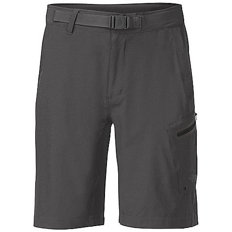 Free Shipping. The North Face Men's Apex Washoe Short DECENT FEATURES of The North Face Men's Apex Washoe Short Lightweight, four-way stretch TNF Apex Aerobic Quick-drying performance Web belt and buckle Crotch gusset Infused cargo zip pocket Back patch-on pocket Relaxed fit Ultraviolet Protection Factor (UPF) 50 The SPECS Average Weight: 8 oz / 240 g Inseam: regular: 10in. 90D 157 g/m2 (5.53 oz/yd2) 89% polyester, 11% elastane TNF Apex Aerobic This product can only be shipped within the United States. Please don't hate us. - $64.95