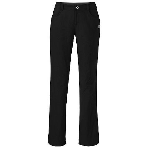 Free Shipping. The North Face Women's Taggart Pant DECENT FEATURES of The North Face Women's Taggart Pant Incredibly lightweight four-way-stretch fabrication Quick-drying Lined waistband for comfort Front closure with belt loops Two hand pockets Two rear pockets, one with secure-zip Articulation Active fit The SPECS Average Weight: 9 oz / 250 g Inseam: short: 30.5in., regular: 32.5in., long: 34in. Body: 90D 124 g/m2 (4.37 oz/yd2) 95% nylon, 5% elastane four-way stretch (bluesign approved fabric) Waistband: 138 g/m2 100% polyester This product can only be shipped within the United States. Please don't hate us. - $74.95