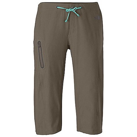 Free Shipping. The North Face Women's Echo Lake Apex Long Short DECENT FEATURES of The North Face Women's Echo Lake Apex Long Short Lightweight, quick-drying, four-way stretch TNF Apex Quick-drying performance Drawcord waist with fly gusset Infused eyelets at waistband Crotch gusset Secure cargo pocket with infused zip Leg cinch option for customized length Sewn eyelet drainholes Active fit Ultraviolet Protection Factor (UPF) 50 The SPECS Average Weight: 10 oz / 280 g Inseam: regular: 18in. 90D 157 g/m2 (5.54 oz/yd2) 89% polyester, 11% elastane TNF Apex Aerobic This product can only be shipped within the United States. Please don't hate us. - $59.95