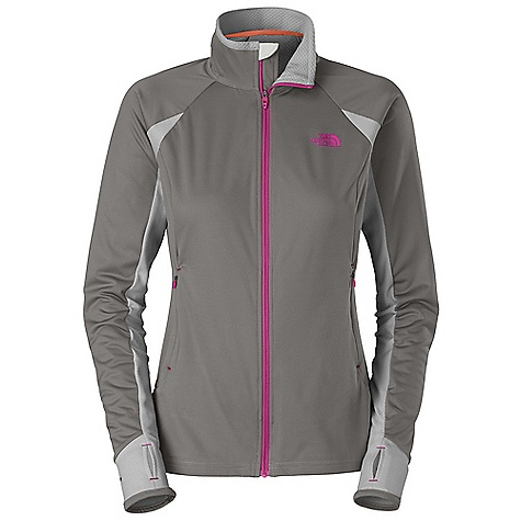 Free Shipping. The North Face Women's Alpine Hybrid Full Zip Jacket DECENT FEATURES of The North Face Women's Alpine Hybrid Full Zip Jacket Mid-layer component of a modular layering system, with paneled FlashDry back, underarms, and forearms Lightweight, packable, breathable with stretch Two hand pockets with invisible zip closure Center front closure with semi-auto-lock zip pull Thumb holes Bound at cuffs Imported The SPECS Average Weight: 13 oz / 360 g Center Back Length: 25.25in. Body: 196 g/m2 (6.914 oz/yd2) 53% polyester, 47% polyester Panels: 90D 130 g/m2 (4.58 oz/yd2) 100% polyester interlock knit with bubble comb texture This product can only be shipped within the United States. Please don't hate us. - $109.95