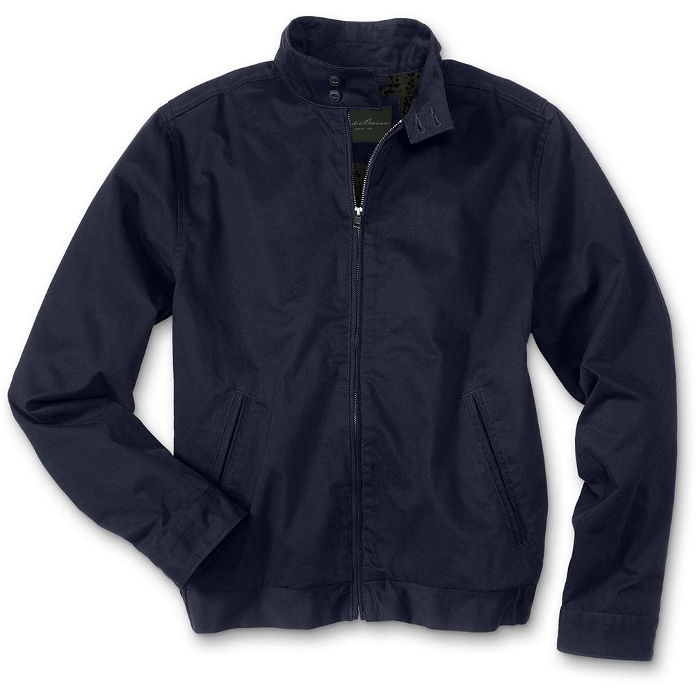 Entertainment Eddie Bauer Featherweight Jacket - Re-introducing the Featherweight Jacket: an Eddie Bauer classic brought back from the archives. True to its name, this 100% cotton jacket is light on weight but wears well even with the heaviest use. With a casual easy fit, adjustable cuffs and an action back; it's the perfect addition to your wardrobe. The 7.3-oz. twill Explorer Cloth is peached for softness. Imported.. - $24.99
