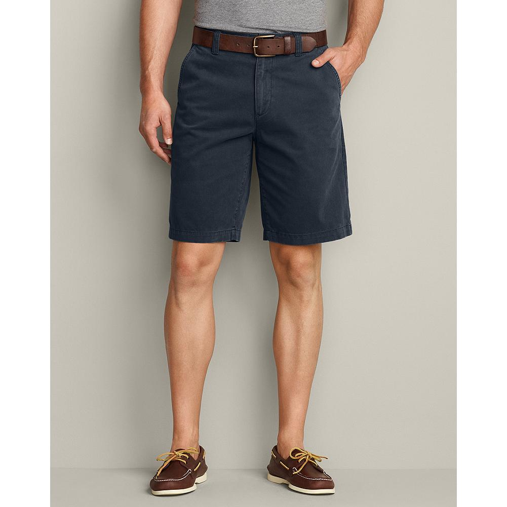 Entertainment Eddie Bauer Legend Wash 10 inch Chino Shorts - Solid - From backyard BBQs to weekend getaways, these are shorts you'll reach for all summer long. In our luxuriously soft and broken-in Legend Wash cotton. - $19.99