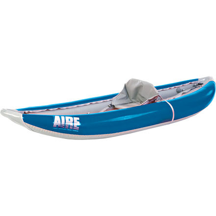 Kayak and Canoe The Lynx I is AIRE's preeminent one-person river kayak. Its stability, performance, and extra cargo room make it a great all-around whitewater boat for everyone from the absolute beginner to the seasoned paddler. - $1,398.95