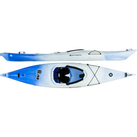 Kayak and Canoe With its compact hull and lowered deck height, the Perception Prodigy XS Kayak is a feature-rich recreational boat that's perfect for small adults and kids. Soft-touch handles and a low weight of just 27 pounds make the boat easy to carry, while the adjustable Zone EXP backband and seat provide ample comfort for longer paddles across the lake. - $339.15