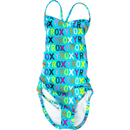 Surf Whether you have a pool party to attend or an outing at the beach, choose the Roxy Girls' Caliente Sun Cross Over Monokini One-Piece Swimsuit. - $26.00