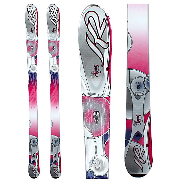 Ski K2 SuperSweet Womens Skis - The new and improved K2 SuperSweet Skis is a lightweight forgiving ski for the beginner who wants to improve quickly or the young lady who has been skiing for a few years, that is ready for her first adult system ski. K2's Catch Free Rocker is slight rocker in the tip and tail. Tip rocker helps you initiate a turn quicker by engaging the edge easier. It also helps absorb some of the negative energy that can a mass on the busy groomers. Rocker in the tail helps you release the ski out of a turn with out grabbing the snow. The Catch Free Rocker will get you to carving turns, instead of skidding them. The MOD technology absorbs vibrations and impact along the entire edge of the ski, and adds strength without affecting the flex of the ski. The MOD Monic chip is a focus mass dampening system that smoothes out the ride of the SuperSweet the faster you push her. The K2 Super Sweets torsion box, polyurethane cap construction is lightweight and forgiving so you can improve your skis and confidence with out the ski being too overbearing. A great ski for the beginner that wants to improve as rapidly as slides her way down the greens and blues. . Tip/Waist/Tail Widths: 118/74/103mm (@ 160cm), Actual Turn Radius @ Specified Length: 14m (@ 160cm), Warranty: One Year, Type: All-Mountain Skis (75-90), Gender: Womens, What Binding is Included?: N/A, Construction Type: Cap, Core Material: Composite, Base Material: Sintered, Tail Profile: Flared, Special Features: Catch Free Rocker, Special Fea - $149.95
