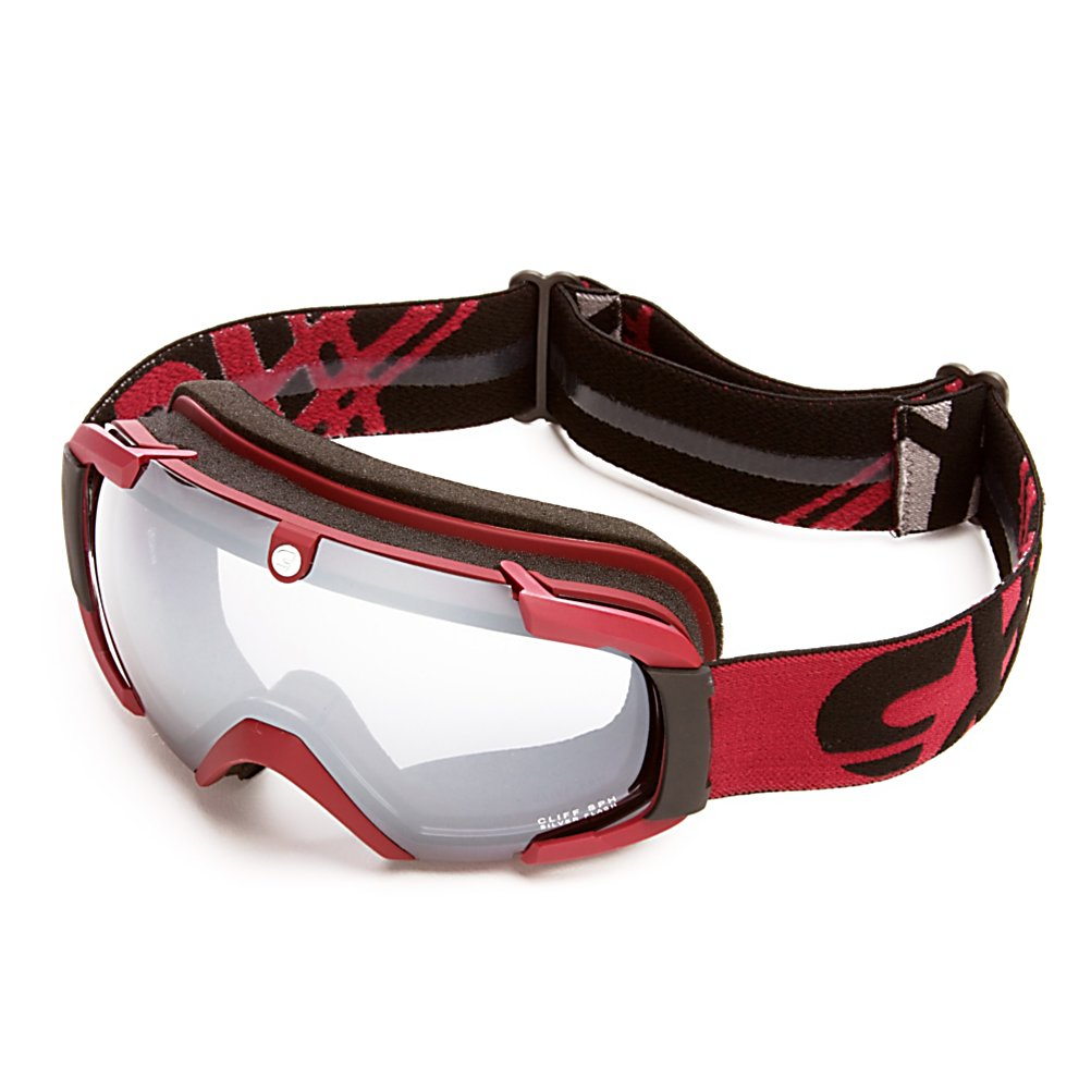 Ski Carrera Cliff SPH Goggles - Keep your vision and face protected while out on the slopes with the Carrera Cliff SPH Goggles. These goggles are helmet compatible which will give you a secure and comfortable fit. An anti-fog and anti-scratch lens treatment will keep your field of vision clear in all types of conditions. The Passive ventilation system will also help keep your vision clear and highly visible in all types of weather conditions. Soft Foam and a Seal-Ring System ensure a perfect fit to your face and allow the Cliff SPH Goggles to fit perfectly into your helmet. An outrigger positioning system on the Carrera Chopper Air goggles ensure these goggles will fit comfortably against your face. . Frame Size: Fits Most Faces, Headphones Included: No, Product ID: 296335, Model Year: 2012, Has Fan: No, Lens Coating: n/a, Lens Shape: Spherical, Helmet Compatible: Yes, Rubberized Strap: No, Photochromatic: Yes, Polarized: No, Spherical Lens: Yes, Frame Size: Medium, Fog Fan: No, Comes w/ Case: No, OTG: No, Category: Adult, Race: No - $49.99
