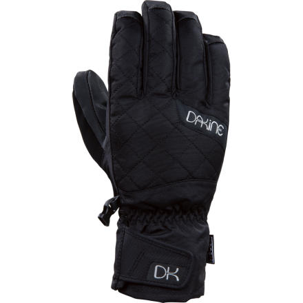 Snowboard DAKINE used its DK Dry waterproof breathable membrane to make the Women 1/2s Camino Short Glove a reliable source of winter protection. And built-in synthetic insulation and plenty of stylish, snow-friendly features help keep you riding comfortably all day long, all season long. - $35.96