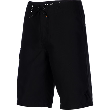 Surf Scan the water for a big set, then paddle and drop in with the Hurley Boys' One & Only Board Short. You'll feel comfortable all day, and once you're out of the water, these shorts will dry quickly. no more soggy butt. - $34.95