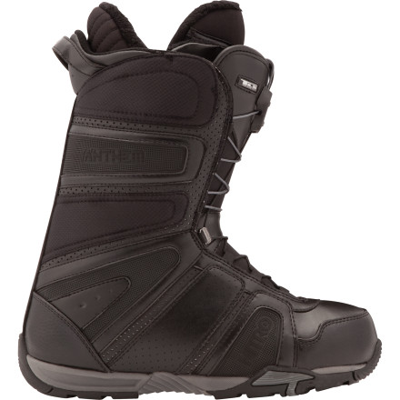 Snowboard From park specialist to big mountain roaming, the soft-flexing, uber-comfortable Nitro Anthem Snowboard Boot gives you spotlight-stealing performance. - $109.98