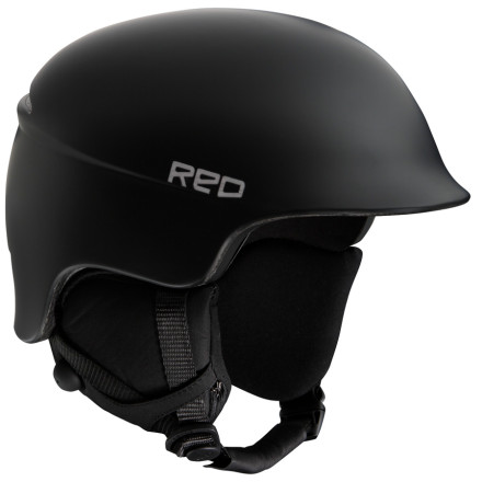 Ski The RED Women's Aletta II Helmet protects your skull in the event of an on-mountain disaster without giving the appearance that you have a whole lotta noggin'. A streamlined fit and molded visor help keep moisture and direct sun off your goggles so you can see the terrain you're about to 'tear a new one.' - $56.23