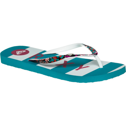 Surf Ocean spray, pool splashes, shower suds, mucky river bottoms, late-night drink spills...none of it bothers the Roxy Mimosa III Sandals. - $9.50