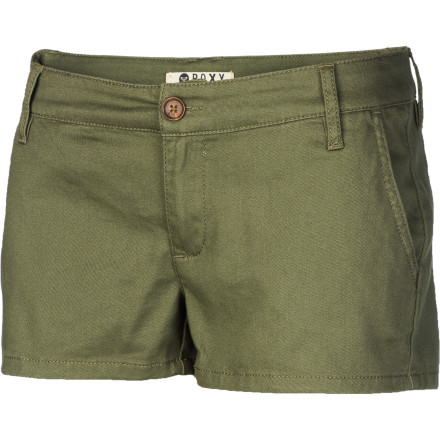 Surf After you rinse the saltwater off, pull on the Roxy Women's Rapid Rise Short, and head into town for some delicious clam chowder. - $31.60