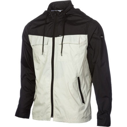 Down by the bay, the day may be OK but, without a moment's notice, it can quickly turn grey. Better bring the RVCA bay Blocker Jacket just to be safe, wouldn't you say - $53.96