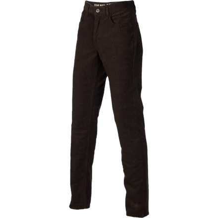 The RVCA Men's Stay RVCA Cord Pants give you a clean, stylish look that works whether you are rushing around campus or heading into the office. Wear these when you want a step up from denim, but you want to keep your vibe casual. - $54.36