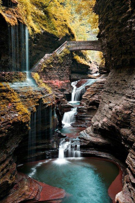 Camp and Hike Watkins Glen State Park