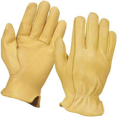 We're offering a great value on high-end deerskin gloves. These gloves are constructed of top-grade deerskin for an unbeatable combination of softness and durability. The classic unlined version features the traditional feel of deerskin that can't be equaled. Imported. Sizes: S-2XL. Colors: Brown, Tan. - $24.99