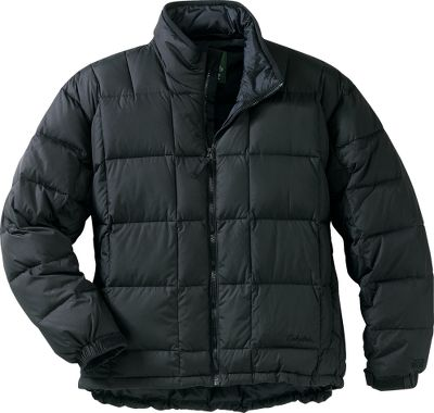 Our 650 Goose Down Jacket is unsurpassed in the industry when it comes to lightweight warmth. We ve set the bar even higher with updated fabric and style. We added a low-sheen shell, softer shell that is quieter and also has a durable water-repellent finish. The high-loft 650-fill-power goose down creates a very lightweight barrier of warmth that makes it a must for outdoor winter activity. Handwarmer slash pockets shelter fingers from bitter cold. An interior storm flap and wraparound chin guard team with adjustable cuffs and a drop tail for optimal heat retention. Imported. Tall sizes: M-3XL. Colors: Black, Dark Red, Dark Chestnut, Pine Green, Arctic Blue, Dark Rust. - $99.99