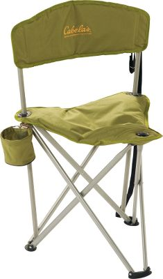 Camp and Hike Lightweight, strong and super-portable, this padded folding chair is perfect on-the-spot seating for sporting events, camping, fishing, hunting or any other activity. The strength of the 16mm power-coated steel frame and the durable 600-denier polyester fabric boast a 275-lb. weight capacity. The built-in carry strap and a total weight of only 3 lbs. makes the perfect go-anywhere chair. Imported.Dimensions: 30.5H x 22.4W x 17.8D. - $19.88