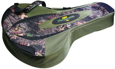 "Hunting Lightweight, easy-toting protection for your crossbow. This soft-sided case has a tough shell and a fully padded interior with extra cushioning for your scope. Sized to fit most makes and models of crossbows with scopes. Padded adjustable shoulder strap and carry handle. Zippered back pocket for accessory storage. Imported.Length: 42-1/2"".Width: 33-1/2"".Depth: 15"".Camo pattern: Mossy Oak Break-Up. - $79.88"