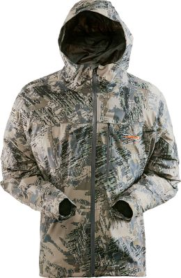 Hunting When rain clouds threaten, choose the Stormfront Lite Jacket. It has a waterproof, breathable GORE-TEX PacLite shell with microtaped seams, watertight zippers and a a durable water-repellent finish. Extremely lightweight and packable for space-saving convenience. Articulated arms for easy of movement. Adjustable cuffs. Imported. Sizes: M-2XL.Camo pattern: OptiFade Concealment Open Country. - $149.88