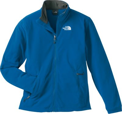 "Come rain, snow or sleet, you'll be prepared with this lightweight jacket. The TKA 100 fleece heat-retention qualities perform flawlessly on strenuous hikes or when the weather turns foul. The fit provides plenty of room to move freely. Zip-in compatible with The North Face shells for layering in brisk conditions. Features zip hand pockets and a hem cinch cord. Imported. Center back length: 27-1/2"" size M. Sizes: M-2XL. Colors: Deepwater Blue, Black, New Taupe Green, Twilight Blue. - $49.88"