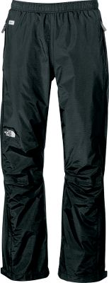 These hard-shell pants deliver the same waterproof, breathable and seam-sealed protection offered by more expensive pants. Constructed of 70-denier, 3-oz., two-layer HyVent fabric with mesh lining for additional ventilation. The pants have an elastic waist, two pockets, ankle zipper gussets and Velcro -adjustable ankle tabs. Imported. Sizes: M-2XL. Color: Black/Black, Black. - $29.88