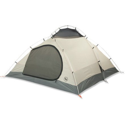 Camp and Hike The Big Agnes Flying Diamond 4 is a deluxe car camping and basecamp tent that will withstand 4-season weather conditions. Now you have every reason to go camping in the snow! - $449.95