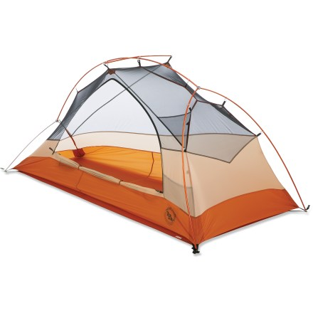 Camp and Hike The Big Agnes Copper Spur UL1 is a freestanding, 3-season backpacking shelter for a single backpacker. This livable, roomy tent has been updated to save you precious weight. - $261.93