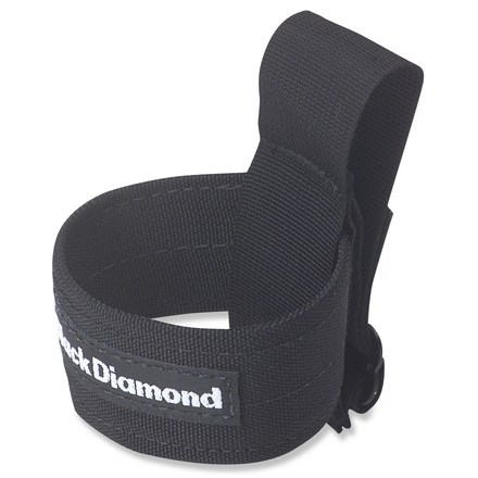 Climbing The Black Diamond Blizzard holster securely stashes ice tools or screws on your climbing harness. - $8.93