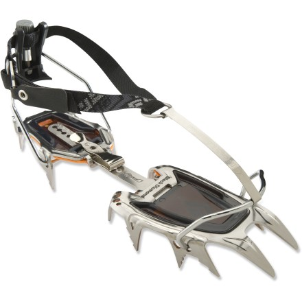 Climbing The all-around Black Diamond Sabretooth Pro Step-In crampons are suitable for everything from glacier climbing to swinging tools on alpine ice. - $143.93