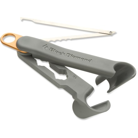 Climbing The Black Diamond First Shot V-thread tool helps you build strong, clean ice anchors. - $20.93