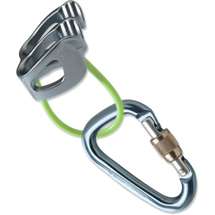 Climbing Get geared up for climbing with the Black Diamond Big Air XP belay device package. It includes a new ATC-XP belay device and a Mini Pearabiner screwgate carabiner. - $31.95