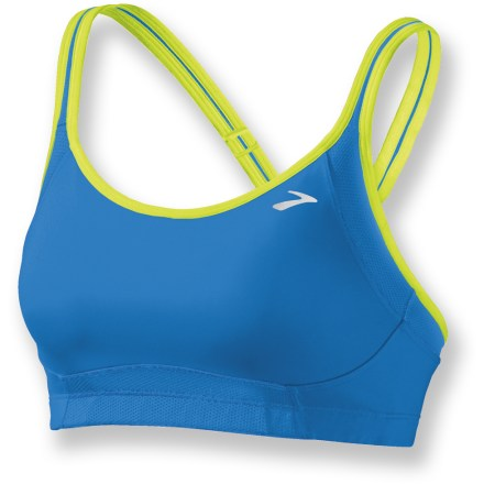 Fitness Offering full support without bulk or unnecessary weight; the Brooks Infiniti A/B sports bra stays snug and keeps you comfortable while running or doing other high-impact activities. - $11.83