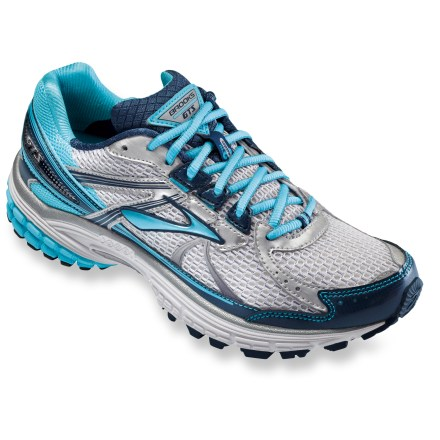 Fitness The women's Brooks Adrenaline GTS 13 road-running shoes provide great stability and cushioning so you can go that extra mile. - $54.83