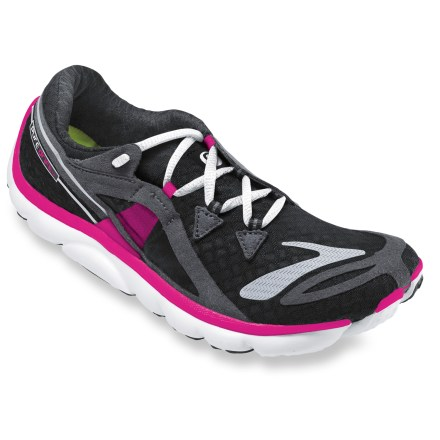 Fitness The newest addition to the PureProject family, the Brooks PureDrift road-running shoes connect you with the ground, offering an amazing fit and feel. - $49.83