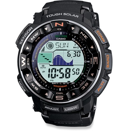 Entertainment The Casio ProTrek PRW2500-1 multifunction watch is a high-performance instrument that keeps time via the accurate Atomic Clock and reliably draws its power from the sun. - $250.00