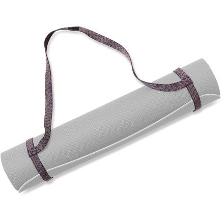 Fitness The Hugger Mugger Simple yoga mat sling gives you an easy way to transport your mat to and from class. - $9.95