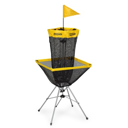 Golf Take your disc golf game with you! This Innova target sets up and folds down easily--ideal for camping, the beach and your backyard. - $69.83