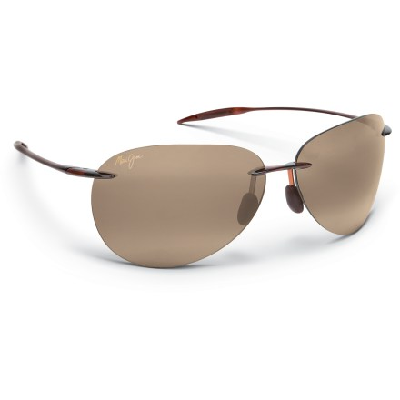 Entertainment The Maui Jim Sugar Beach polarized sunglasses protect your eyes and enhance your view with vibrant colors and Maui Jim PolarizedPlus2(R) technology. - $169.00